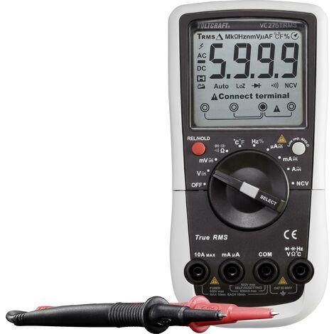 Voltcraft VC276 multimètre numérique TRMS calibré ISO D926831
