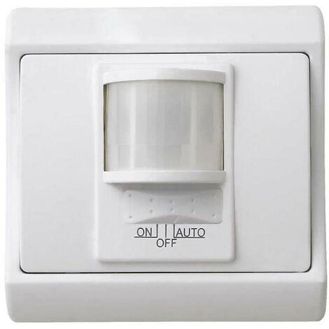 VOLTMAN Interrupteur détecteur de mouvement a encastrer 500 W