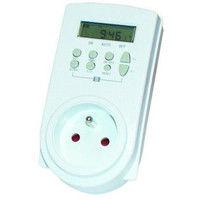 VOLTMAN Prise programmable digitale - 230V AC 50 Hz - 16 A