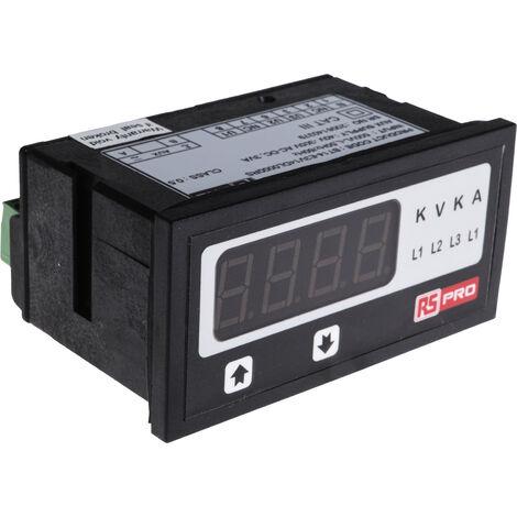 Voltmètre numérique, LED 4 Digits, 0°C à +50°C BT14 ±0,5 + 1 digit %