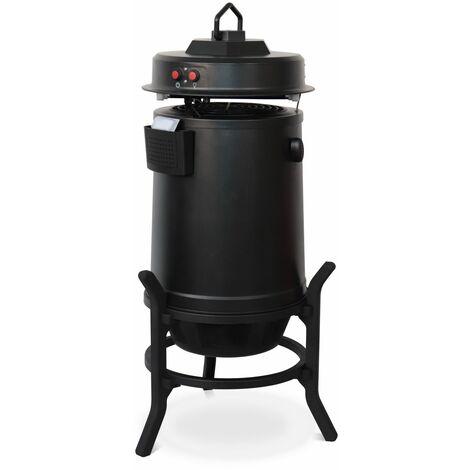 VOLTR - Aparato anti-mosquitos - TIGER - Negro con cebo, trampa para mosquitos, hasta 200 m², para uso en interiores y exteriores, no tóxico - Negro