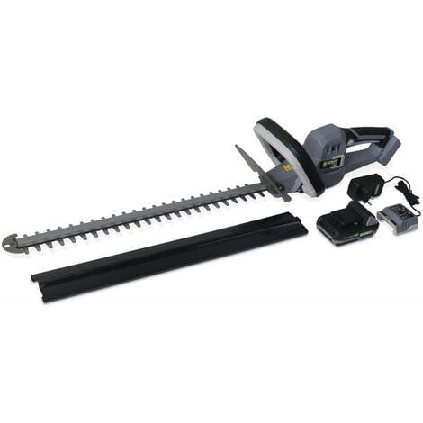 VOLTR – Taille-haies sans fil 51cm – avec batterie Lithium Ion + chargeur 20v. Normes CE. cache lames inclus