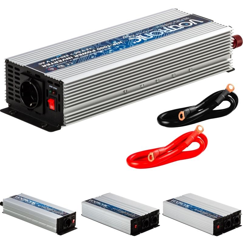 1000W 2000W Stromwandler Spannungswandler USB AUTO Wechselrichter 12V auf 230V