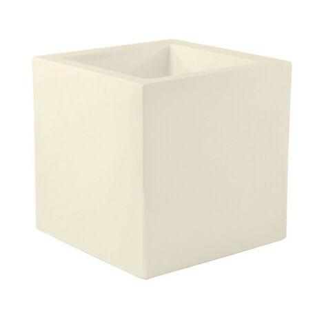 VONDOM Pot Cubo Modelo - Mate Crudo - 30cm