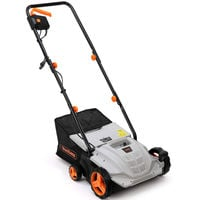 VonHaus 2 in 1 Electric Lawn Raker/Scarifier, Aerator 1500W with 4 Working Depths