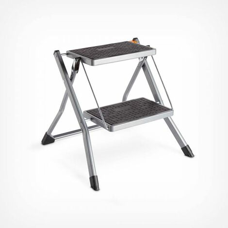 Enjoyable Vonhaus 2 Step Stool Anti Slip Feet Easy To Store Squirreltailoven Fun Painted Chair Ideas Images Squirreltailovenorg