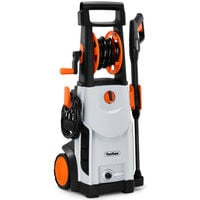 VonHaus 2200W Pressure Washer With Accessories - Outdoor Home/Patio & Car Cleaner - 110 Bar Pressure 165bar Max Pressure, 6.3 litres/min Flow
