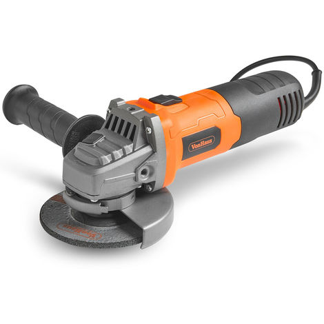VonHaus 750W Angle Grinder With 115mm Grinding Disc, Side