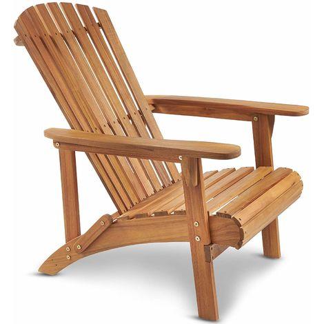 VonHaus Adirondack Chair Outdoor Garden Furniture made