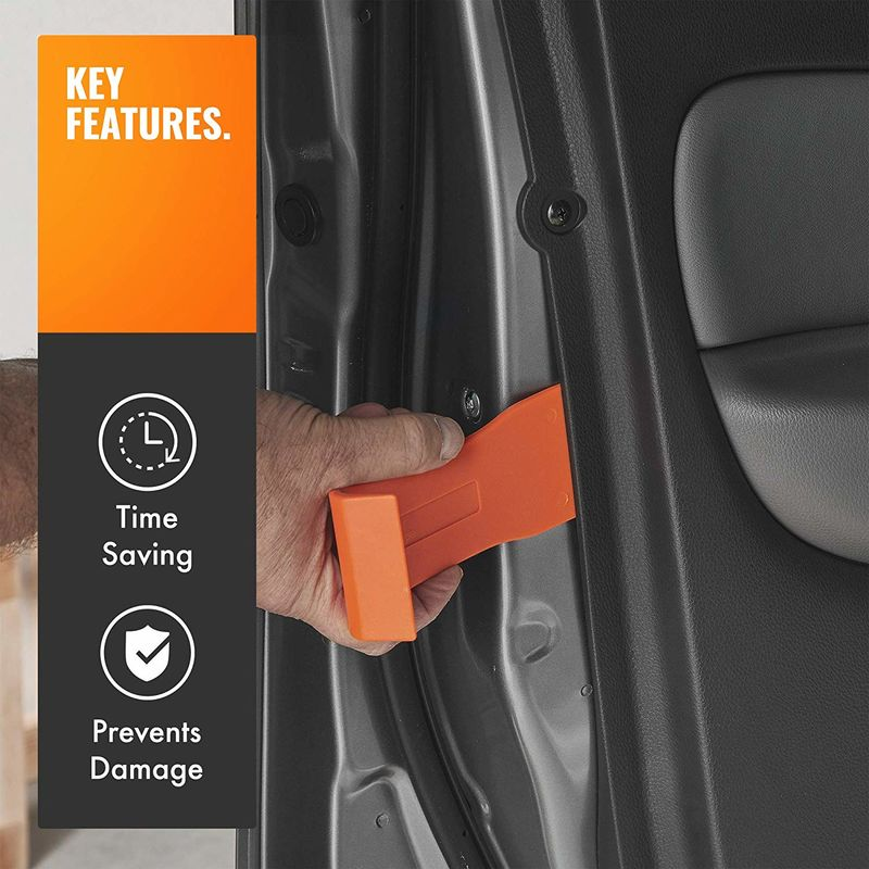 VonHaus Car Trim Removal Tools - Door Panel Remover 11 Piece Universal  Nylon Tool Set To Remove Car Door Panels & Upholstery ? Includes Carry Case