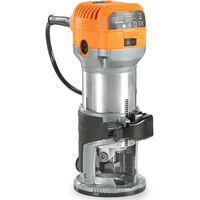 VonHaus Compact Palm Router Saw 710W Chuck collet Diameter 1/4'' 3/8'' - Trimmer Base For Wood / Laminate Flooring