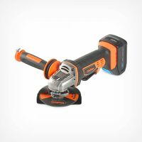 """VonHaus Cordless Angle Grinder with 3.0Ah Li-ion 20V MAX Battery, Charger, 1 x 115mm / 4 ½"""" Cutting Disc & Power Tool Bag - Includes Anti Vibration Support Handle"""