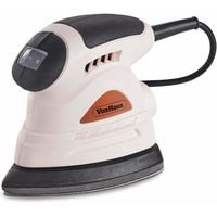 VonHaus Detail Palm Sander Rose Gold - Dust Extraction Port - Compact Ergonomic Design for Hand - Multi Use 130W