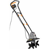 VonHaus Electric 1050W Tiller - Garden Soil Cultivator / Rotavator - 32cm Cutting Width
