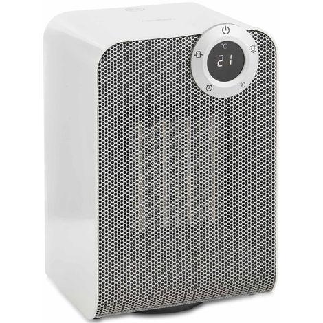 VonHaus Oscillating Ceramic Fan Heater 1800W - PTC Heat Technology with Timer, 2 Heat Settings, Temperature Adjustment & LED Display
