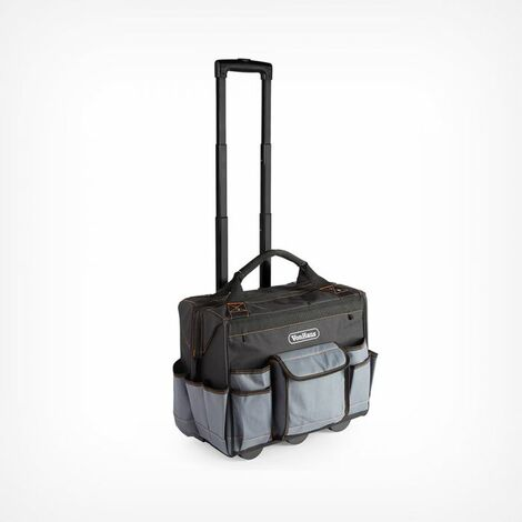 VonHaus Rolling Tool Bag ? Heavy Duty Roller Storage ? Large Capacity ? Telescopic Handle & Durable Wheels ? Strong Material