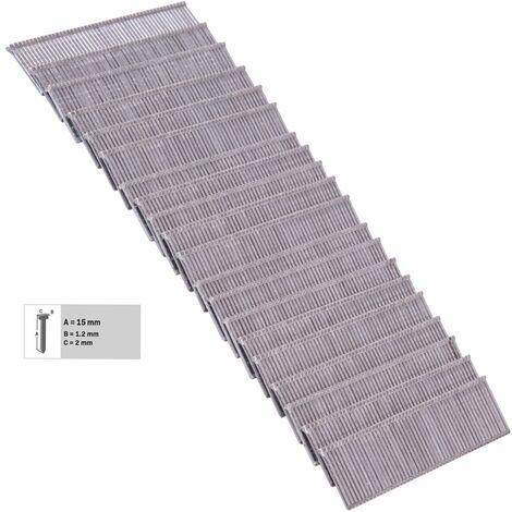 """main image of """"VONROC 1000 clavos de 15mm para grapadora eléctrica"""""""