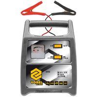 VOREL Cargador de baterías de coche 116 Ah plateado 82552