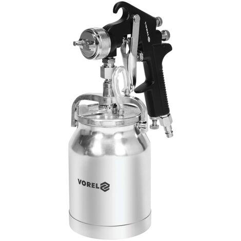 VOREL HVLP Spray Gun with Fluid Cup 1000 ml