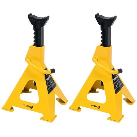 VOREL Jack Stands 2 pcs 6 Tonne 80309