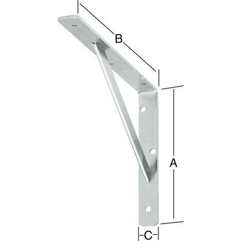 Vormann Stegkonsole verz. 500 x 330 mm Nr. 159500Z