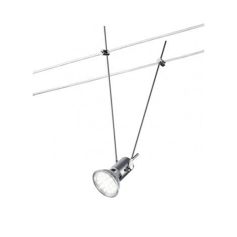 Vornehmer 16 Watt LED Strahler in Titanfarbig