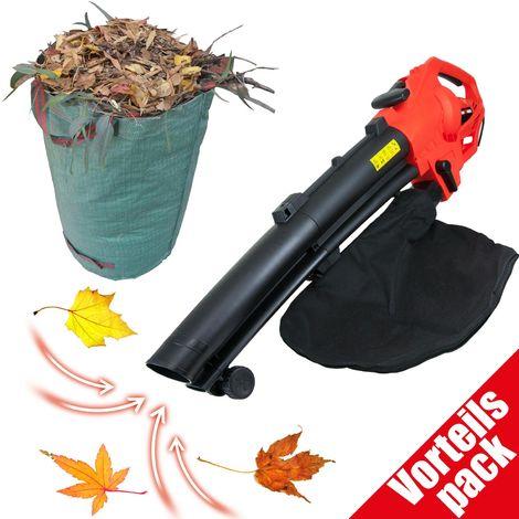 Vorteilspack Grafner® 3in1 Laubsauger 3500Watt + Gratis Grafner® Gartenabfallsack 272L