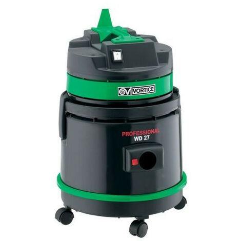 Vortice - Aspirateur poussière liquide et solides 27 l 1000 W débit 64 l/s - Professional WD 27