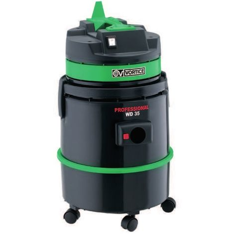 Vortice - Aspirateur poussière liquide et solides 35 l 1000 W débit 64 l/s sans prise électroportative - Professional WD 35