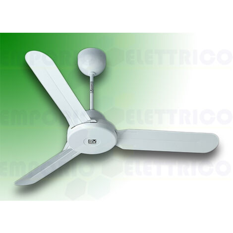 "vortice ceiling fan nordik design is 90/36"" white 61160"