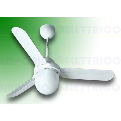 vortice ceiling fan nordik design is/l 120/48 white 61101