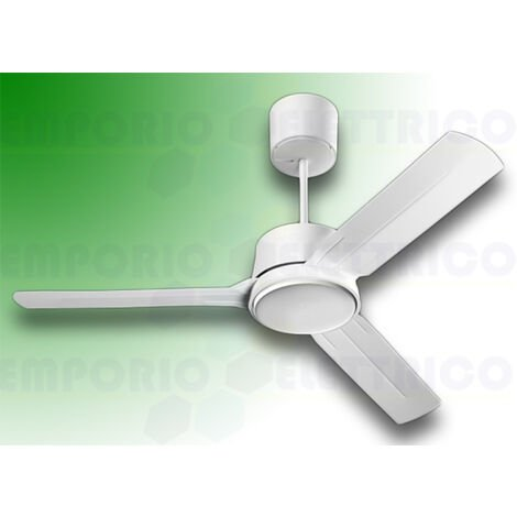 "vortice ceiling fan nordik eco 90/36"" white 61060"