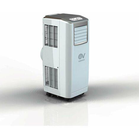 Vortice - Climatiseur mobile monobloc 2600 W 360 m3/h roues pivotantes - Vort Ice