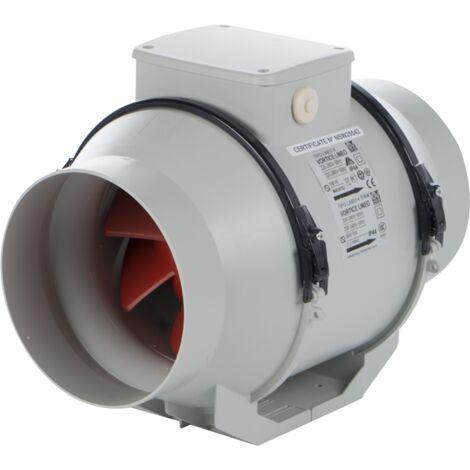 Vortice - Extracteur centrifuge en conduit 100 mm 15W 200 m3/h - LINEO