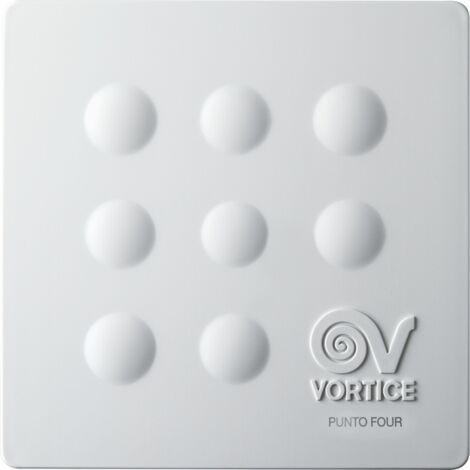 Vortice - Extracteur d'air hélicoïdal Ø 90 mm 65 m3/h 14 W mural couleur blanc - Four