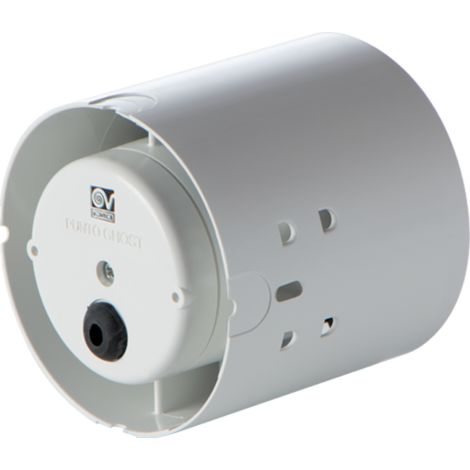 Vortice - Extracteur hélicoïde en conduit 100 mm Tempo 18W 80 m3/h - GHOST