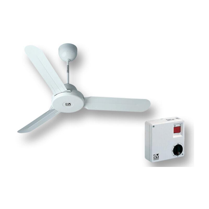 kit ventilatore soffitto nordik design is 120/48' bianco 61260 ev61260a - Vortice