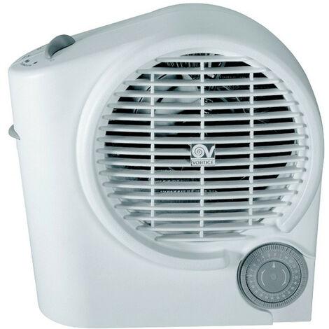 Vortice - Radiateur soufflant portable domestique 2000 W avec minuterie - Scaldatutto Duemilla