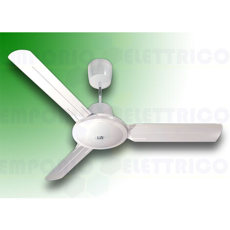 "vortice reversible ceiling fan nordik evolution 140/56"" white 61752"