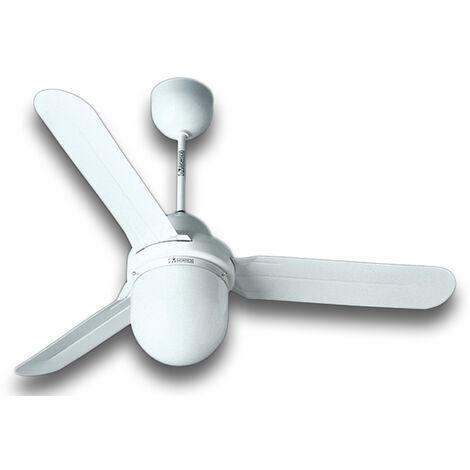 vortice ventilateur plafond nordik design is/l 90/36 blanc 61001