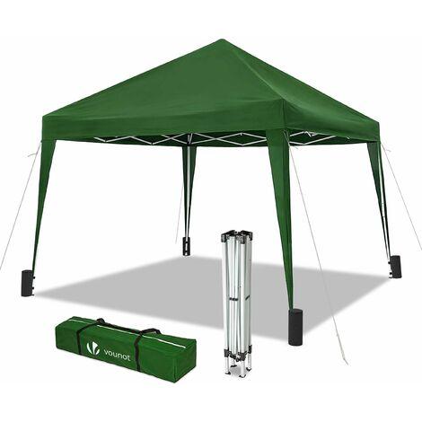 VOUNOT 3x3m Pop Up Gazebo Folding Garden Party Tent