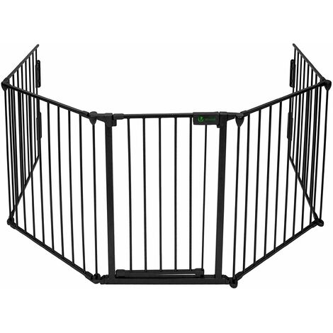 VOUNOT Baby Safety Playpen, Hearth Gate, Fire Gate, Fireplace Pet Fence 300cm