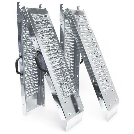 """main image of """"VOUNOT Set of 2 Folding Loading Ramps Heavy Duty 400 kg Max Loading"""""""