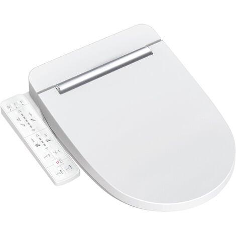 Vovo Abattant WC japonais, siège de toilette électrique avec bidet intégré, blanc (VB3100S)