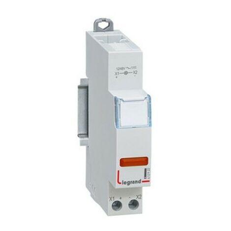 Voyant à LED CX³ - simple 110/400V~ - rouge - 1 module