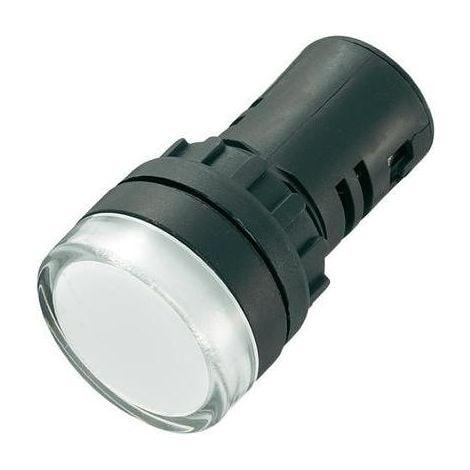 VOYANT DE SIGNALISATION LED AD16-22DS/230V/W BLANC 230 V/AC 20 MA 1 PC(S) SONSTIGE