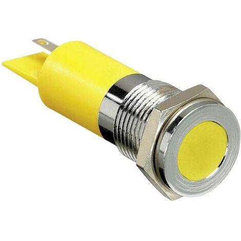 Voyant de signalisation LED APEM Q14F1CXXW12E blanc 12 V/DC 20 mA 1 pc(s)