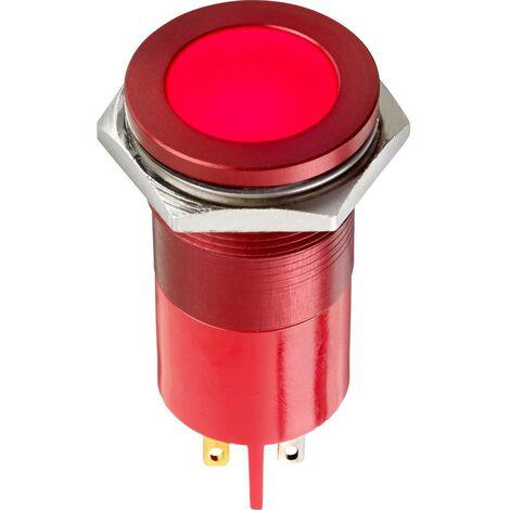 Voyant de signalisation LED APEM Q22F1AGXXSG28AE Q22F1AGXXSG28AE vert 28 V/AC, 28 V/DC 9.0 V 1 pc(s)