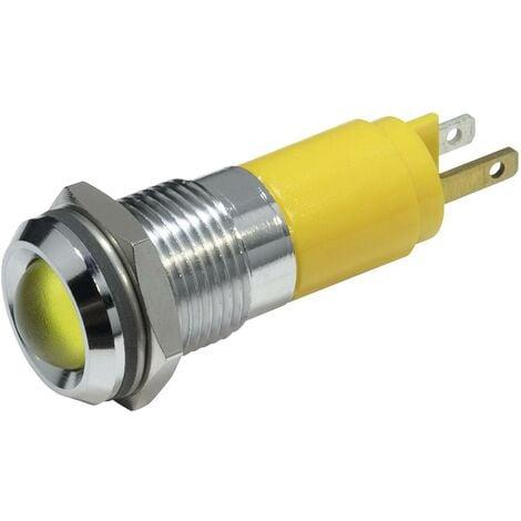 Voyant de signalisation LED jaune 24 V/DC 20 mA V075181