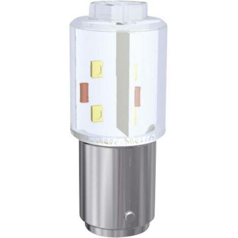 Voyant de signalisation LED Signal Construct MBRD150874 MBRD150874 BA15d Puissance: 0.9 W N/A